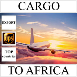 Delivery of cargo up to 10 kg to Africa from Ukraine (top countries) by UPS