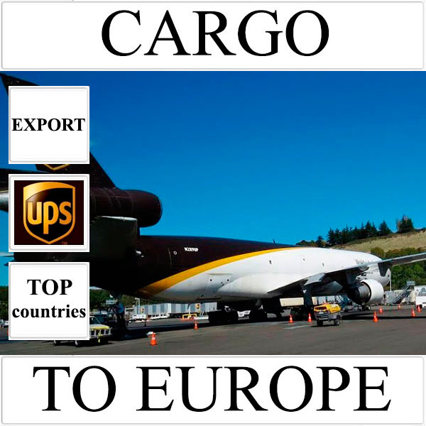 Delivery of cargo up to 10 kg to Europe from Ukraine (top countries) by UPS