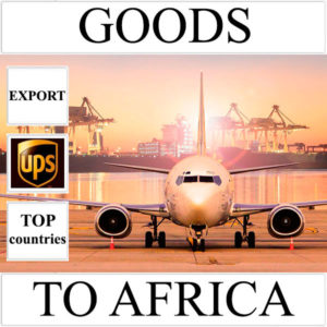 Delivery of goods up to 1 kg to Africa from Ukraine (top countries) by UPS