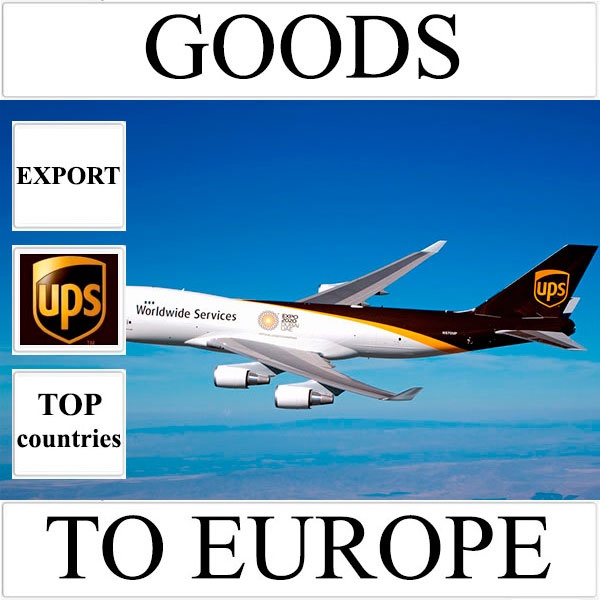 Delivery of goods up to 1 kg to Europe from Ukraine (top countries) by UPS