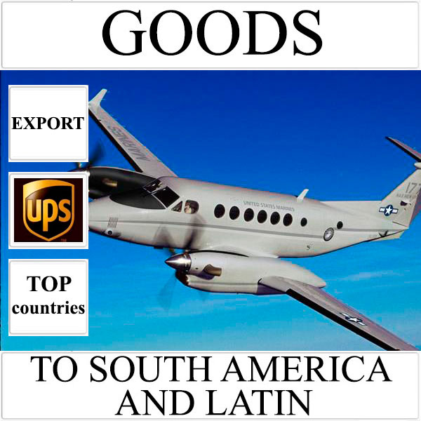 Delivery of goods up to 1 kg to South America and Latin from Ukraine by UPS
