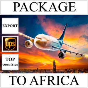 Delivery of package up to 2 kg to Africa from Ukraine (top countries) by UPS