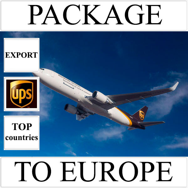Delivery of package up to 2 kg to Europe from Ukraine (top countries) by UPS