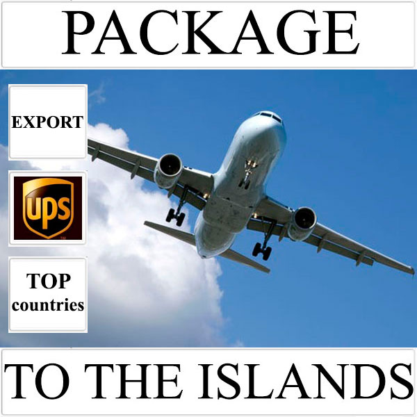 Delivery of package up to 2 kg to the islands over the world from Ukraine by UPS