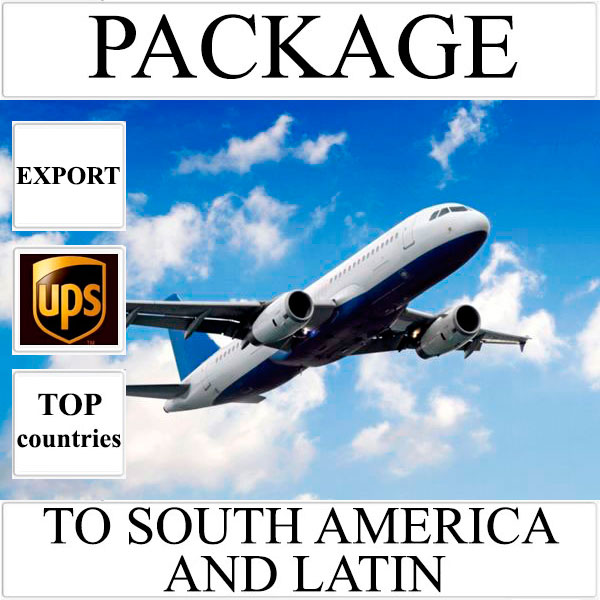 Delivery of package up to 2 kg to South America and Latin from Ukraine by UPS