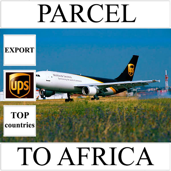 Delivery of parcel up to 5 kg to Africa from Ukraine (top countries) by UPS