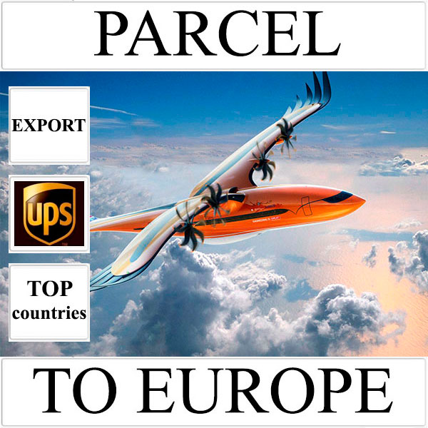 Delivery of parcel up to 5 kg to Europe from Ukraine (top countries) by UPS