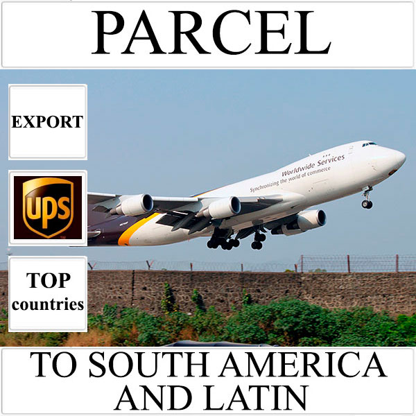 Delivery of parcel up to 5 kg to South America and Latin from Ukraine by UPS