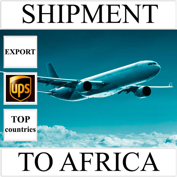 Delivery of shipment up to 0,5 kg to Africa from Ukraine (top countries) by UPS