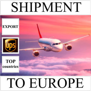Delivery of shipment up to 0,5 kg to Europe from Ukraine (top countries) by UPS