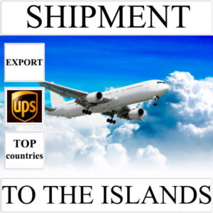 Delivery of shipment up to 0,5 kg to the islands over the world from Ukraine by UPS