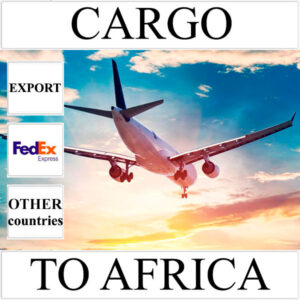 Delivery of cargo up to 10 kg to Africa from Ukraine (other countries) by FedEx