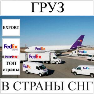 Доставка груза до 10 кг в СНГ из Украины FedEx