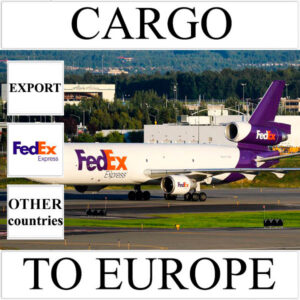 Delivery of cargo up to 10 kg to Europe from Ukraine (other countries) by FedEx