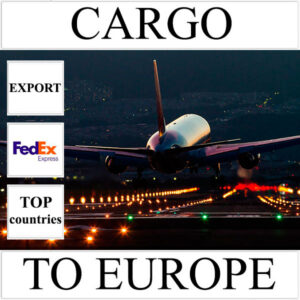 Delivery of cargo up to 10 kg to Europe from Ukraine (top countries) by FedEx