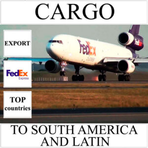 Delivery of cargo up to 10 kg to South America and Latin from Ukraine by FedEx