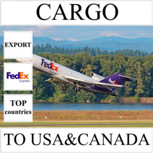 Delivery of cargo up to 10 kg to USA and Canada from Ukraine by FedEx