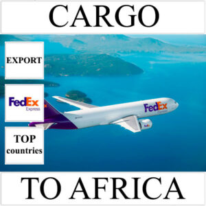 Delivery of cargo up to 10 kg to Africa from Ukraine (top countries) by FedEx
