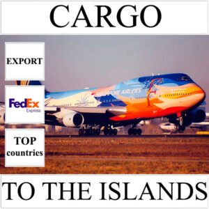Delivery of cargo up to 10 kg to the islands over the world from Ukraine by FedEx