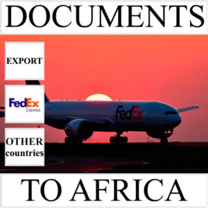 Delivery of documents up to 0,5 kg to Africa from Ukraine (other countries) by FedEx