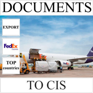 Delivery of documents up to 0,5 kg to CIS from Ukraine by FedEx