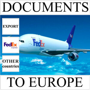 Delivery of documents up to 0,5 kg to Europe from Ukraine (other countries) by FedEx