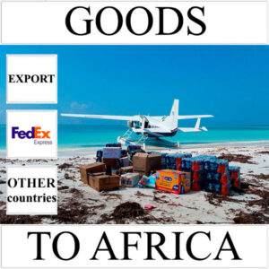 Delivery of goods up to 1 kg to Africa from Ukraine (other countries) by FedEx