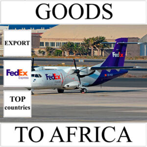 Delivery of goods up to 1 kg to Africa from Ukraine (top countries) by FedEx