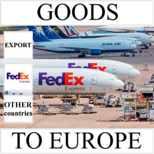 Delivery of goods up to 1 kg to Europe from Ukraine (other countries) by FedEx
