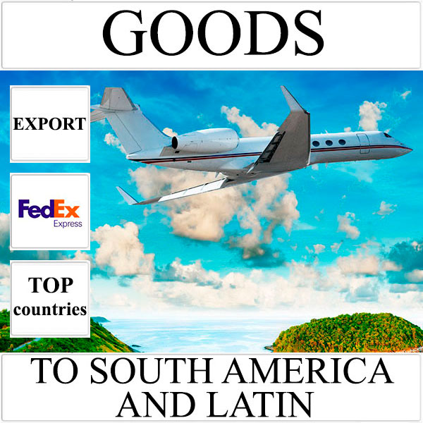 Delivery of goods up to 1 kg to South America and Latin from Ukraine by FedEx