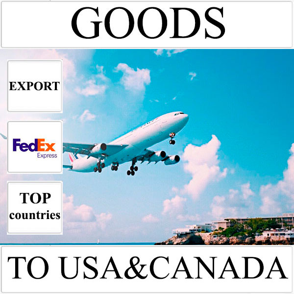 Delivery of goods up to 1 kg to USA and Canada from Ukraine by FedEx