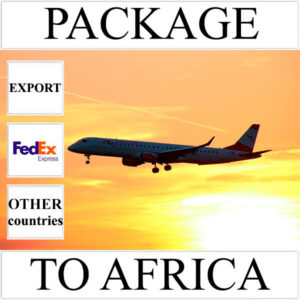 Delivery of package up to 2 kg to Africa from Ukraine (other countries) by FedEx