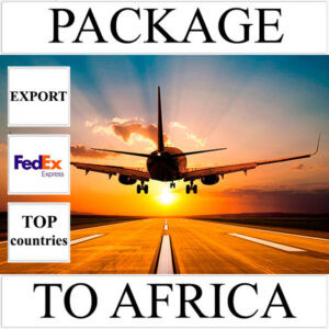 Delivery of package up to 2 kg to Africa from Ukraine (top countries) by FedEx