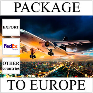Delivery of package up to 2 kg to Europe from Ukraine (other countries) by FedEx
