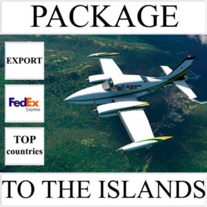Delivery of package up to 2 kg to the islands over the world from Ukraine by FedEx