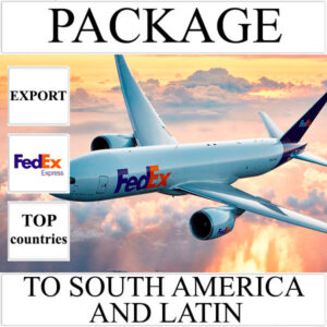 Delivery of package up to 2 kg to South America and Latin from Ukraine by FedEx