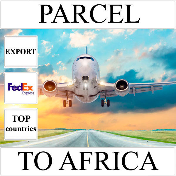 Delivery of parcel up to 5 kg to Africa from Ukraine (top countries) by FedEx