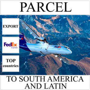 Delivery of parcel up to 0 kg to South America and Latin from Ukraine by FedEx