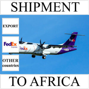 Delivery of shipment up to 0,5 kg to Africa from Ukraine (other countries) by FedEx