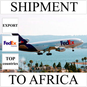 Delivery of shipment up to 0,5 kg to Africa from Ukraine (top countries) by FedEx