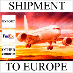 Delivery of shipment up to 0,5 kg to Europe from Ukraine (other countries) by FedEx