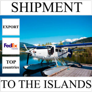 Delivery of shipment up to 0,5 kg to the islands over the world from Ukraine by FedEx