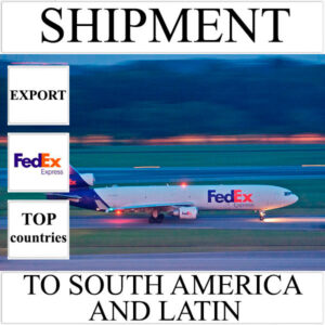 Delivery of shipment up to 0,5 kg to South America and Latin from Ukraine by FedEx