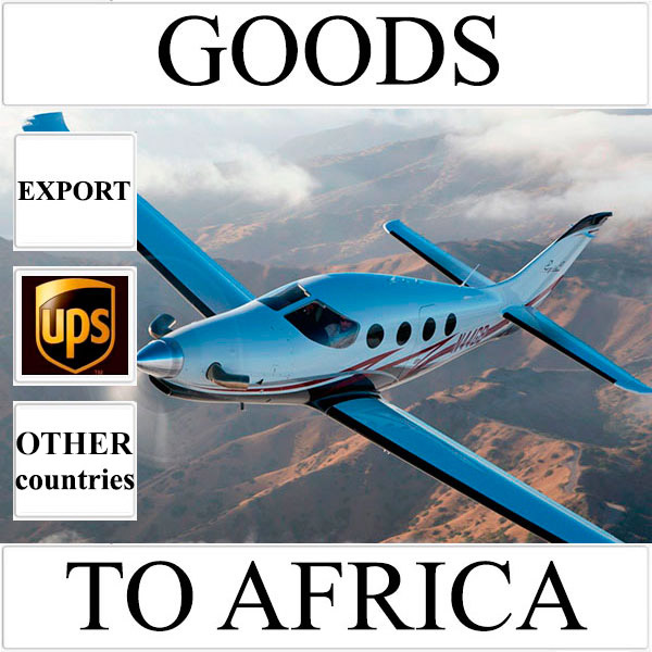 Delivery of goods up to 1 kg to Africa from Ukraine (other countries)