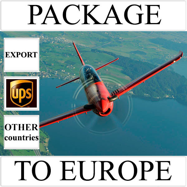 Delivery of package up to 2 kg to Europe from Ukraine (other countries) by UPS