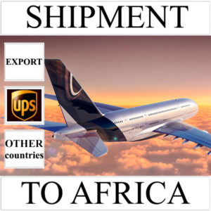 Delivery of shipment up to 0,5 kg to Africa from Ukraine (other countries)
