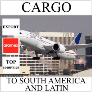 Delivery of cargo up to 10 kg to South America and Latin from Ukraine by Aramex