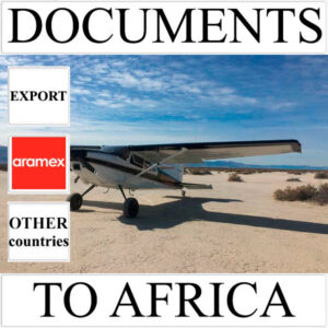 Delivery of documents up to 0.5 kg to Africa from Ukraine (other countries) by Aramex