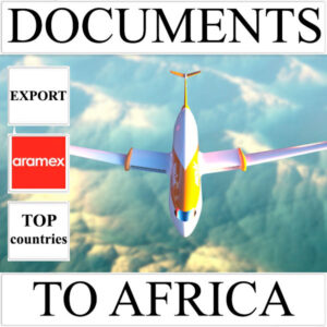 Delivery of documents up to 0.5 kg to Africa from Ukraine (top countries) by Aramex