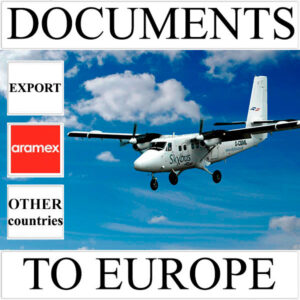 Delivery of documents up to 0.5 kg to Europe from Ukraine (other countries) by Aramex